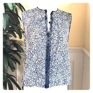 Tory Burch sleeveless Top. Size 6.